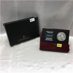 RCM 2005 Special Edition Proof $5 Silver Coin