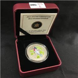 RCM 25¢ Coloured Coins (CHOICE of 6)