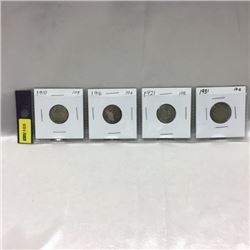 Canada Ten Cent (Strip of 4)