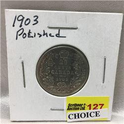Canada Twenty Five Cent (CHOICE of 3)