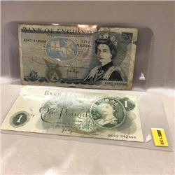 Bank of England Notes (2)