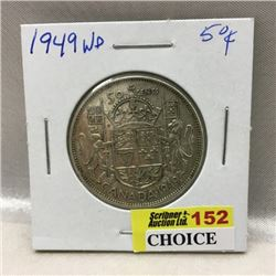 Canada Fifty Cent (CHOICE of 5)