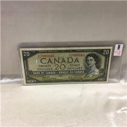 Canada $20 Bill 1954 (CHOICE of 3)