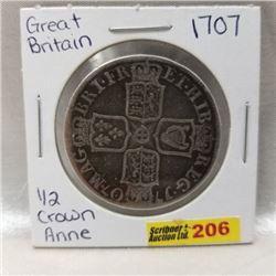 Great Britain 1/2 Crown Anne