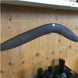 Combo of 6 Items: Snake Skins, Aboriginal Weapons, Sword Fish Tusk