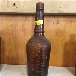 "Brown Embossed Bottle: ""JNO. Wyeth & Bro Philadelphia Liq. Ext. Malt"""