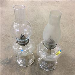 Coal Oil Lamps (2)