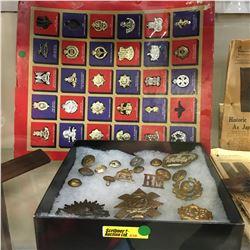 Militaria: British Badge & Button Collection