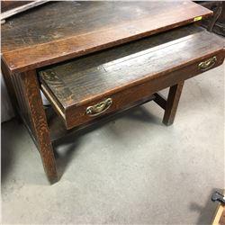 Mission Style Desk w/Removeable Lap Desk Drawer!!!