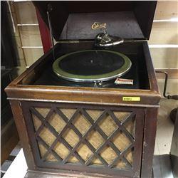 Edison Disc Phonograph Model B19  S/N#SM18781 (Works!)