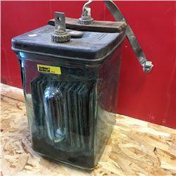 Glass Battery  (Aqua)