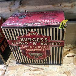 Radio Battery: Burgess