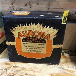 Radio Battery: Aurora