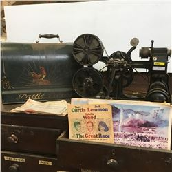 """Movie Projector """"KOK Marque Deposee"""" (Elk Point's First Picture Show Machine - Used Prior to 1922) S"""