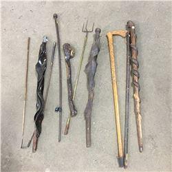 Walking Sticks, Canes, Etc