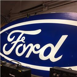 10' Ford Oval Sign - Lighted