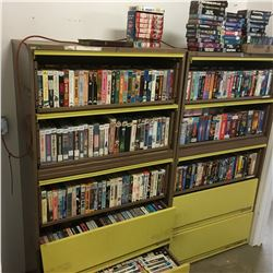 The Movie Gallery - Huge VHS Collection & Lateral Cabinets