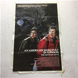 Movie Posters (3): American Werewolf in London, King of the Mountain, Corvette Summer