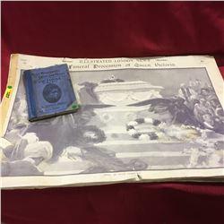 Queen Victoria Pictorial Funeral Procession & Brief Biography of Victoria