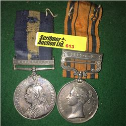 Militaria : War Medal (2) : G.R. Deare (Cape of Good Hope - Basutoland - Major P.A.V.G.) & (South Af