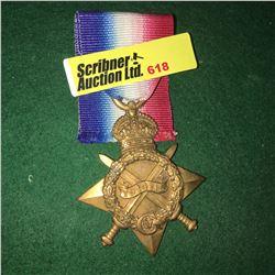 Militaria : War Medal : 17012 Pte J.E. Griffith (Dorm L.T. 1914/15 Star)