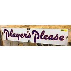 """""""Players Please"""" Sign (24"""" x 5"""")"""