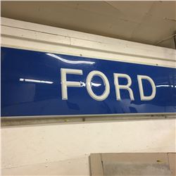 """FORD SIGN (96"""" x 29"""")"""