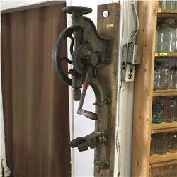 Antique Post Drill