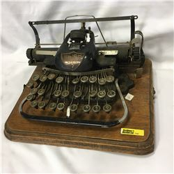 """Very Old Typewriter """"Blick 9&10 Cheap Side London Made in USA 7 """" (Dial Type - Not QWERTY Keyboard!!"""