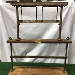 """""""The E.B. Eddy Co. 18"""" General Store Counter Top Paper Cutter"""