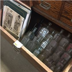 Small Labware Bottle Collection & Paper Advertising Collection
