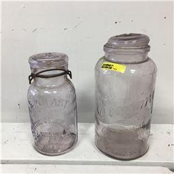 Pair of Jars : Economy & Seal Fast (Purple)
