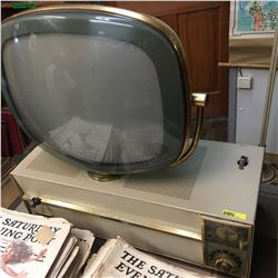 Philco Predicta Console Television w/Clock !