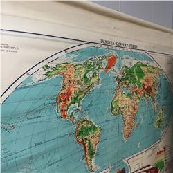 Denoyer-Geppert Series World Map 1962