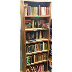 Book Case FULL of Books: School, Agriculture, Novels, Medical, etc