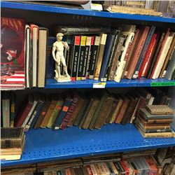 2 Shelf Lots - BOOKS: Arts, Archeology & Adventure