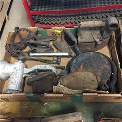Tray Lots - Selection Vintage Tools