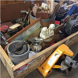 Crate Lot: Variety Vintage Collectibles - Must Look !