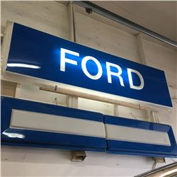 """FORD SIGN (96"""" x 29"""") Comes with Extra Wings"""