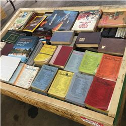 Crate Lot: Reader's Digest & National Geographic Collection + Bonus Books