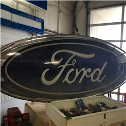 Ford Oval Sign 12' Double Sided