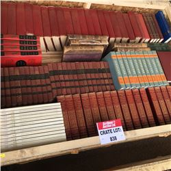 CRATE LOT #6: Encyclopedia Sets (Including: Book of Knowledge, Universal, American, Canadiana, Funk