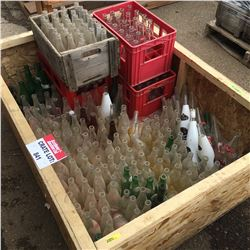 CRATE LOT #9: Bottle Collection (Pop Shop, Calgary, America Dry, etc)