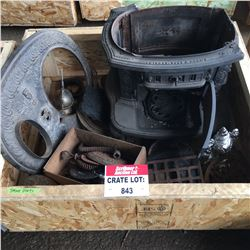 CRATE LOT #11: Stove Parts !
