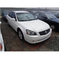 NISSAN ALTIMA 2005 T-DONATION