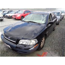 VOLVO S40 2004 SALV T/DONATION