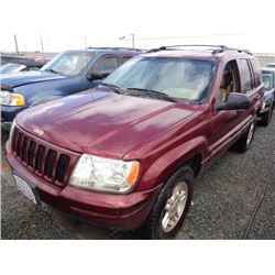 JEEP GR CHEROKEE 1999 T-DONATION