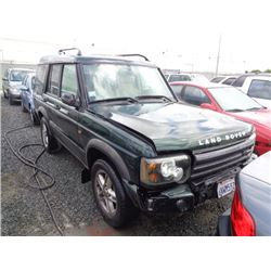 LAND ROVER DISCOVERY 2003 T-DONATION