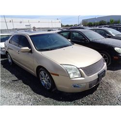 FORD FUSION 2006 T-DONATION