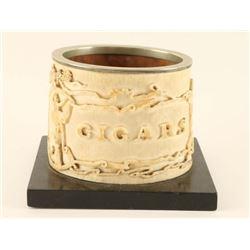 Finely Carved Ivory Cigar Horn